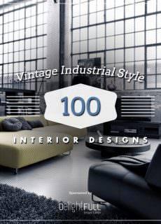 Vintage Industrial Style – 100 Interior Designs – 2017