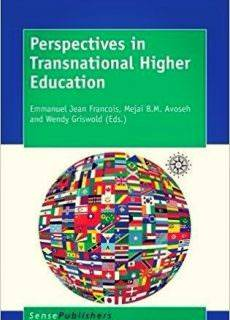 Perspectives in Transnational Higher Education Year: 2016