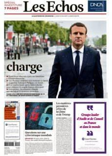 Les Echos du Lundi 15 Mai 2017
