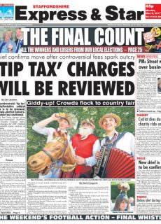 Express and Star Staffordshire Edition – May 8, 2017