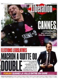 Libération du Lundi 22 Mai 2017