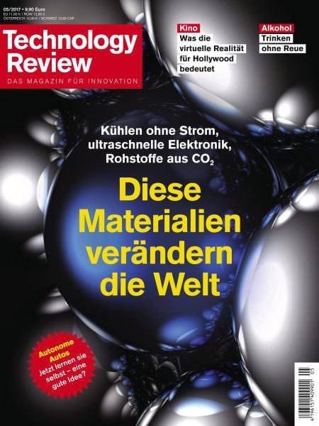 Download Technology Review — Mai 2017 PDF magazine free!
