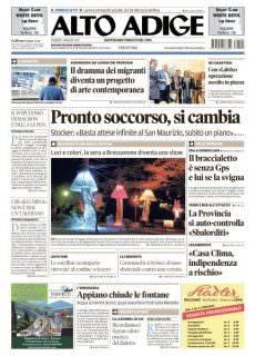 Alto Adige – 5 Maggio 2017