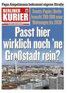 Berliner Kurier – 16 Mai 2017