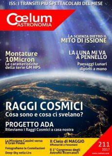 Coelum Astronomia N.211 — Maggio 2017