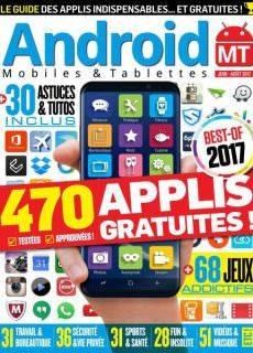 Android Mobiles et Tablettes — Juin-Aout 2017