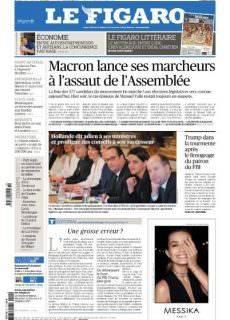 Le Figaro du Jeudi 11 Mai 2017