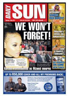 Daily Sun Western Cape – May 18, 2017