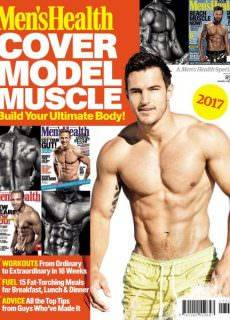 Men's Health South Africa – Cover Model Muscle (2017)