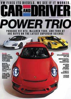 Car and Driver USA — July 2017