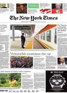 International New York Times – 10-11 June 2017