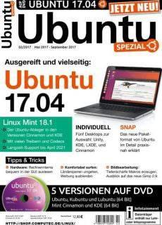 Ubuntu Spezial Nr.2 – Mai-September 2017