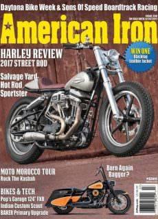 American Iron Magazine – Issue 350 2017