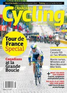 Canadian Cycling – June-July 2017