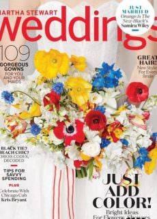 Martha Stewart Weddings – Summer 2017