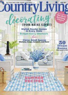 Country Living USA – June 2017