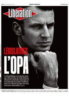 Libération du Lundi 12 Juin 2017