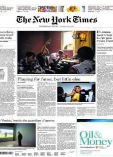 International New York Times – 6 June 2017