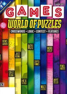 Games World of Puzzles – August 2017