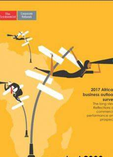 The Economist (Corporate Network) – 2017 African business outlook survey (2017)