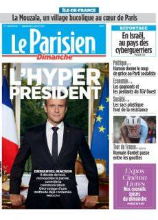 Le Parisien du Dimanche 2 Juillet 2017