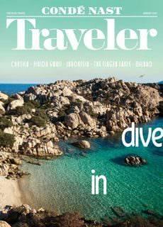 Conde Nast Traveler USA – August 2017