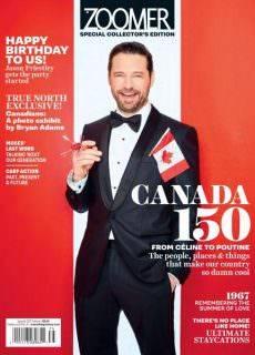 Zoomer Magazine Special Collectors Edition Canada 150 2017