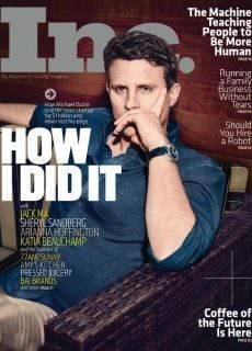 Inc Magazine JulyAugust 2017