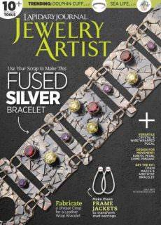Lapidary Journal Jewelry Artist July 2017
