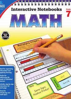 Interactive Notebooks Math, Grade 7