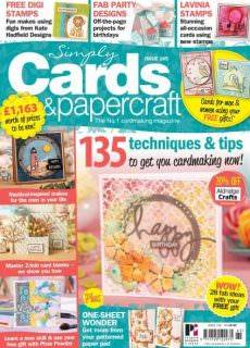 Simply Cards Papercraft Issue 165 2017