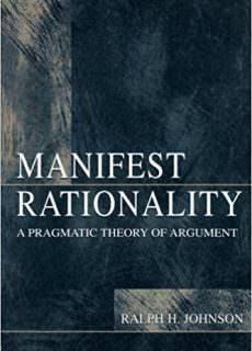 Manifest Rationality A Pragmatic Theory of Argument