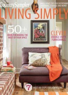 Country Sampler Living Simply September 2017