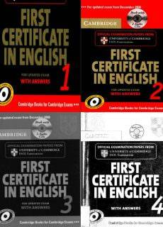 Cambridge First Certificate in English 1, 2, 3, 4 for Updated Exam Self-study Pack: Collection
