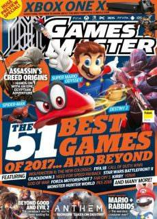 Gamesmaster Issue 319 August 2017