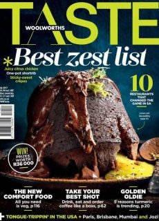 Woolworths Taste July 2017