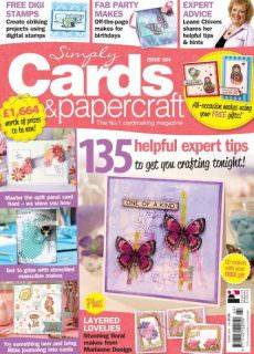 Simply Cards Papercraft Issue 164 2017