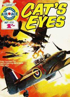 Air Ace Picture Library 428 Cat's Eyes (1969) (Fleetway) (c2c) (fixed)