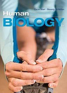 Biology and Genetics Cecie Starr, Beverly McMillan – Human Biology (11th edition)