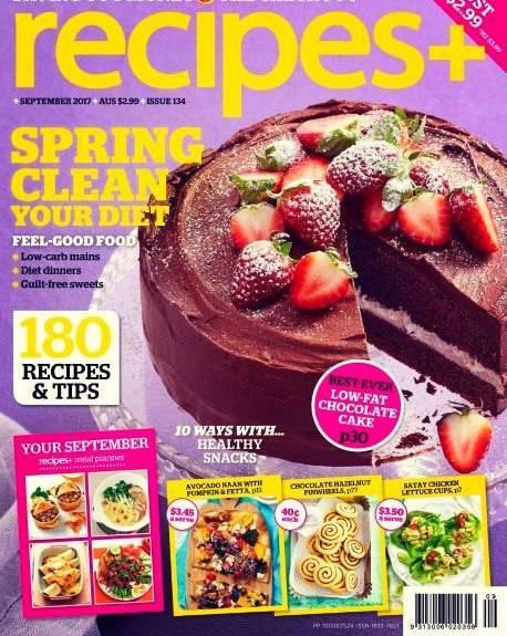 Download Recipes Australia September 2017 Pdf Magazine Free