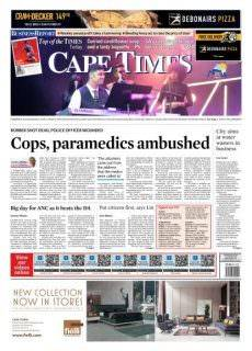 Cape Times — August 25, 2017