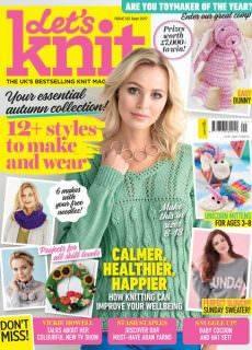 Let's Knit – Issue 122 – September 2017