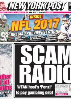 New York Post — September 7, 2017