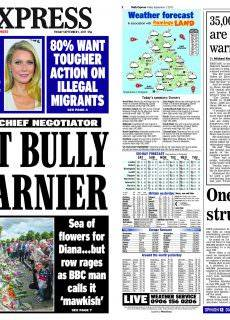 Daily Express – September 01, 2017