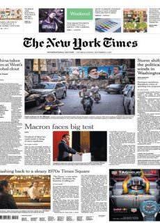 International New York Times 2-3 September 2017