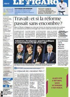 Le Figaro du Samedi 2 et Dimanche 3 Septembre 2017