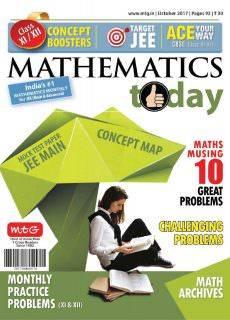 Mathematics Today – October 2017