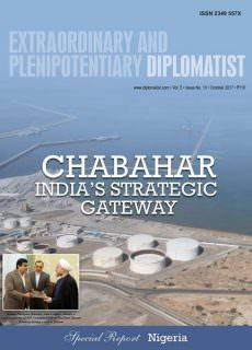 Extraordinary and Plenipotentiary Diplomatist — October 2017