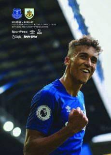 Everton Programmes — 30 September 2017