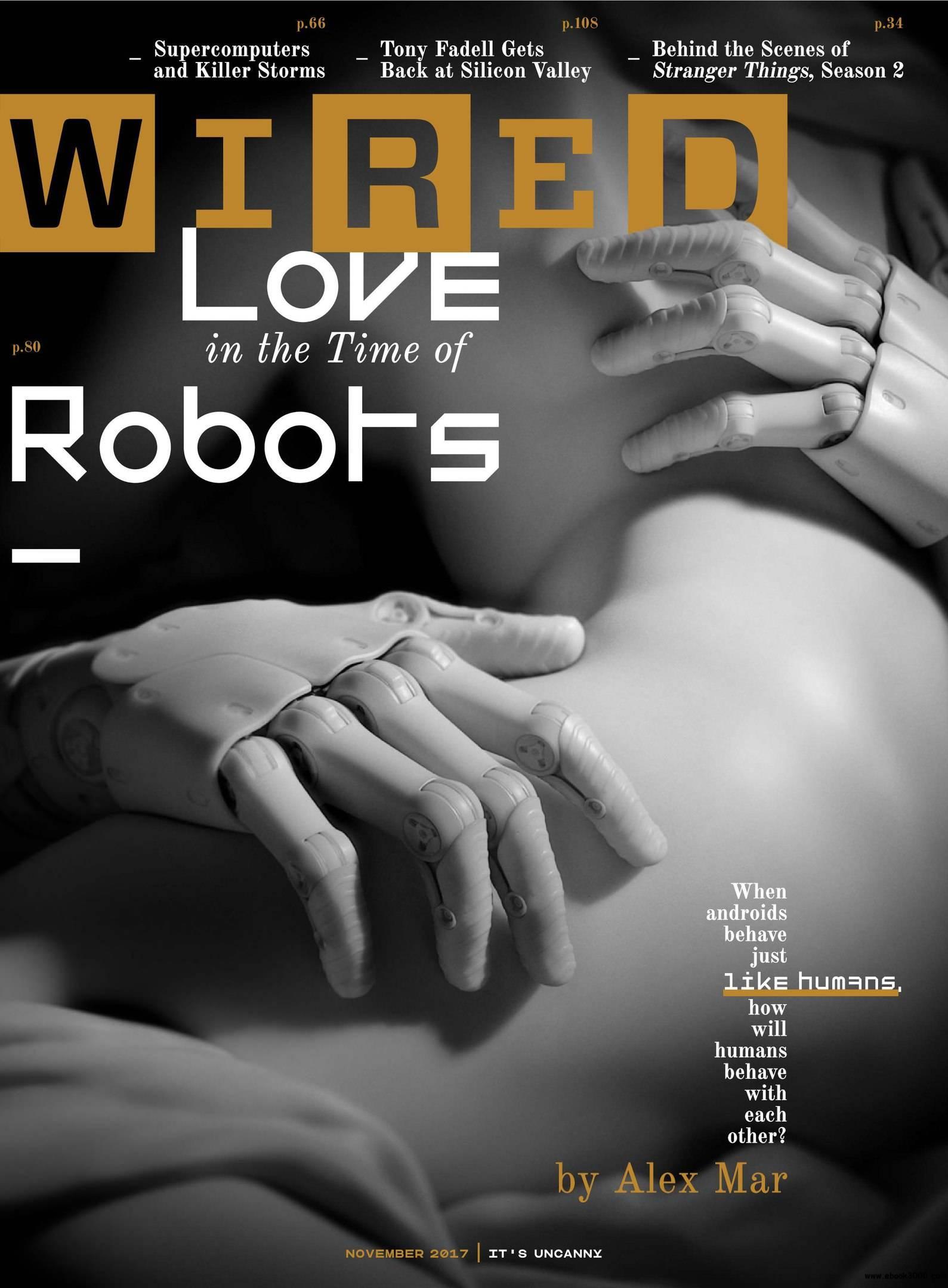 Download Wired USA – November 2017 PDF magazine free!
